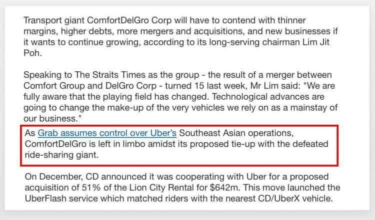 康福德高同优步结盟,要让司机乘客都获益!