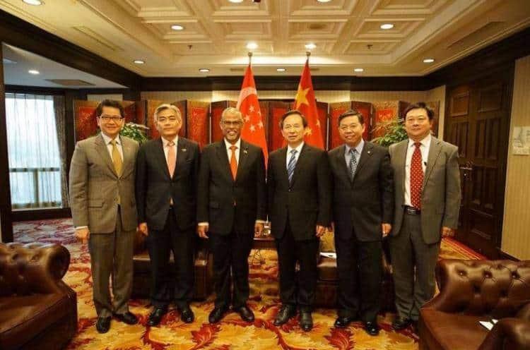 马善高:新中两国推动经济,环境保护为优先!