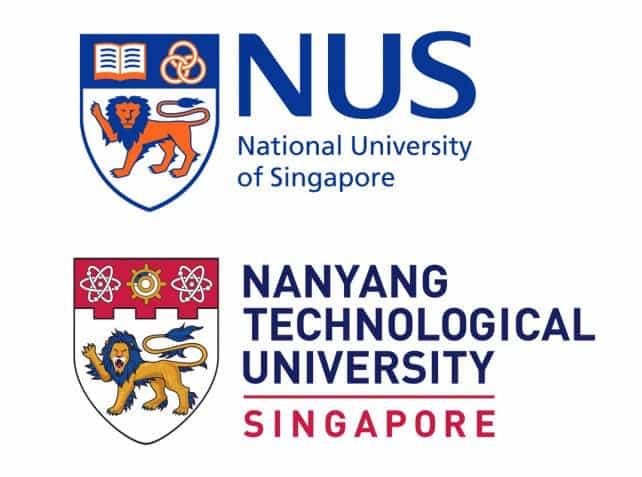 新加坡国大和南大分别排名全球第11和第12