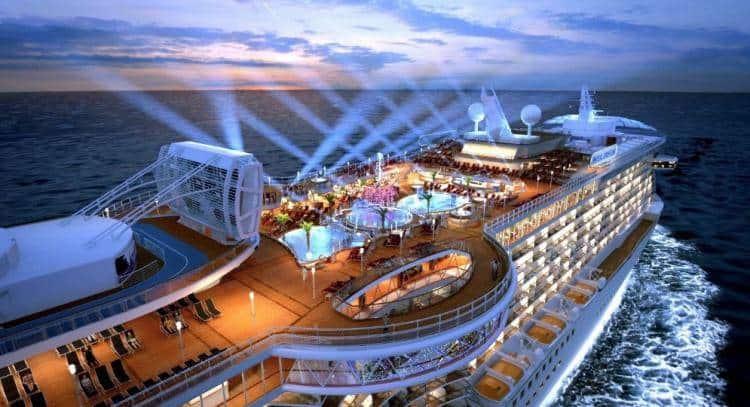 新加坡港口游轮旅客数量在过去三年增速明显!