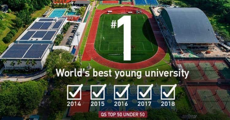 QS排名: 新加坡南洋理工大学连续五年蝉联榜首!
