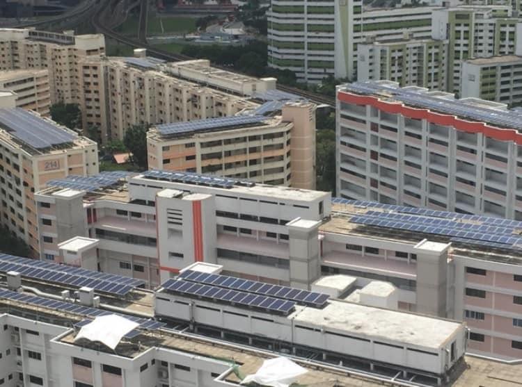 到了2020年,新加坡四分之一组屋将装太阳能板!