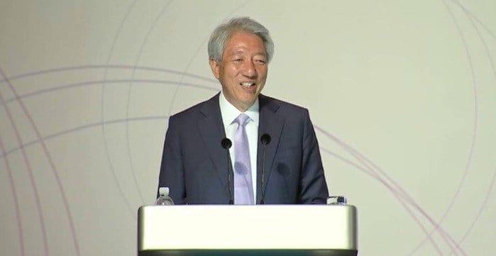 新加坡副总理张志贤即日起到中国进行为期九天访问~