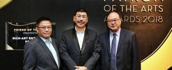 """""""艺术赞助奖""""颁奖礼,300获奖者捐助新加坡艺术5160万新币!"""