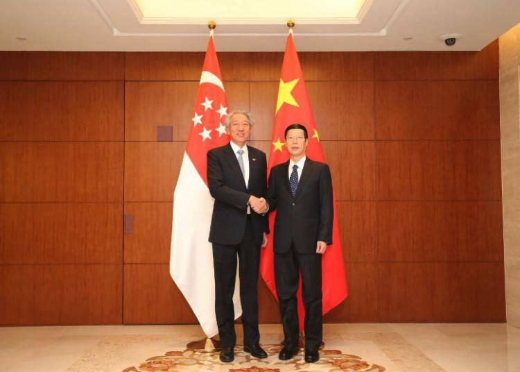 新加坡副总理兼国家安全统筹部长张志贤:中新重庆项目进展超乎预期