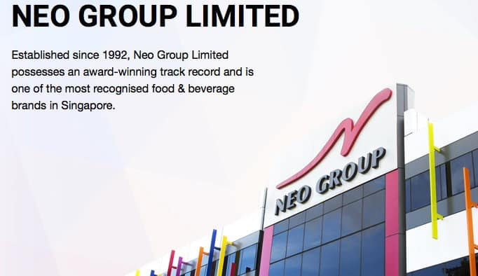 Neo Group以440万新元收购How's Catering的51%股权!